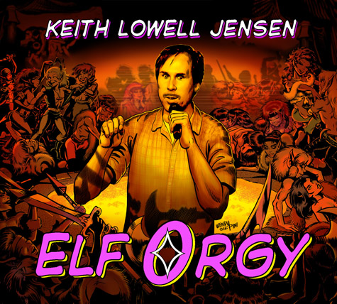 Keith Lowell Jensen-Elf Orgy CD Moustache-1-web