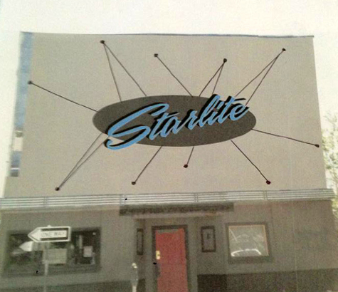 Starlite mock up sign-web