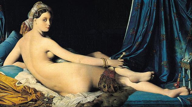 {Jean-Auguste-Dominique Ingres' La Grande Odalisque}