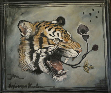 {Tiger Head Web}