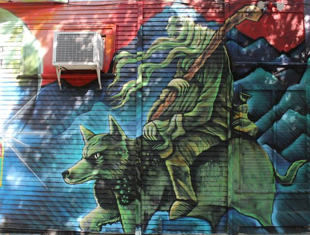 Electric Wizard-Mural-Sacramento