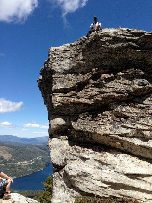 Submerge Tony on Donner Peak