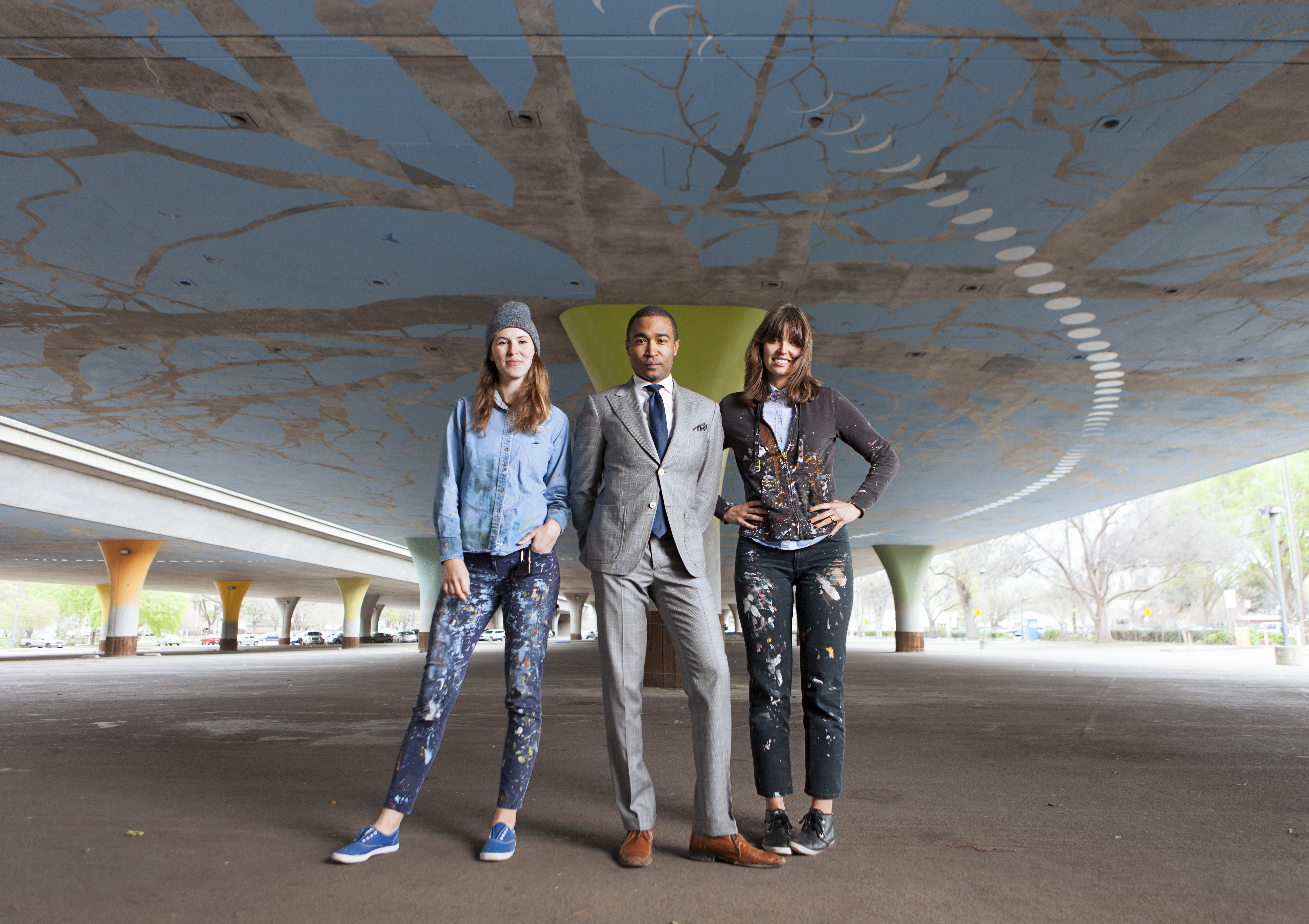 Muralists Sofia Lacin and Hennessy Christophel Team Up with