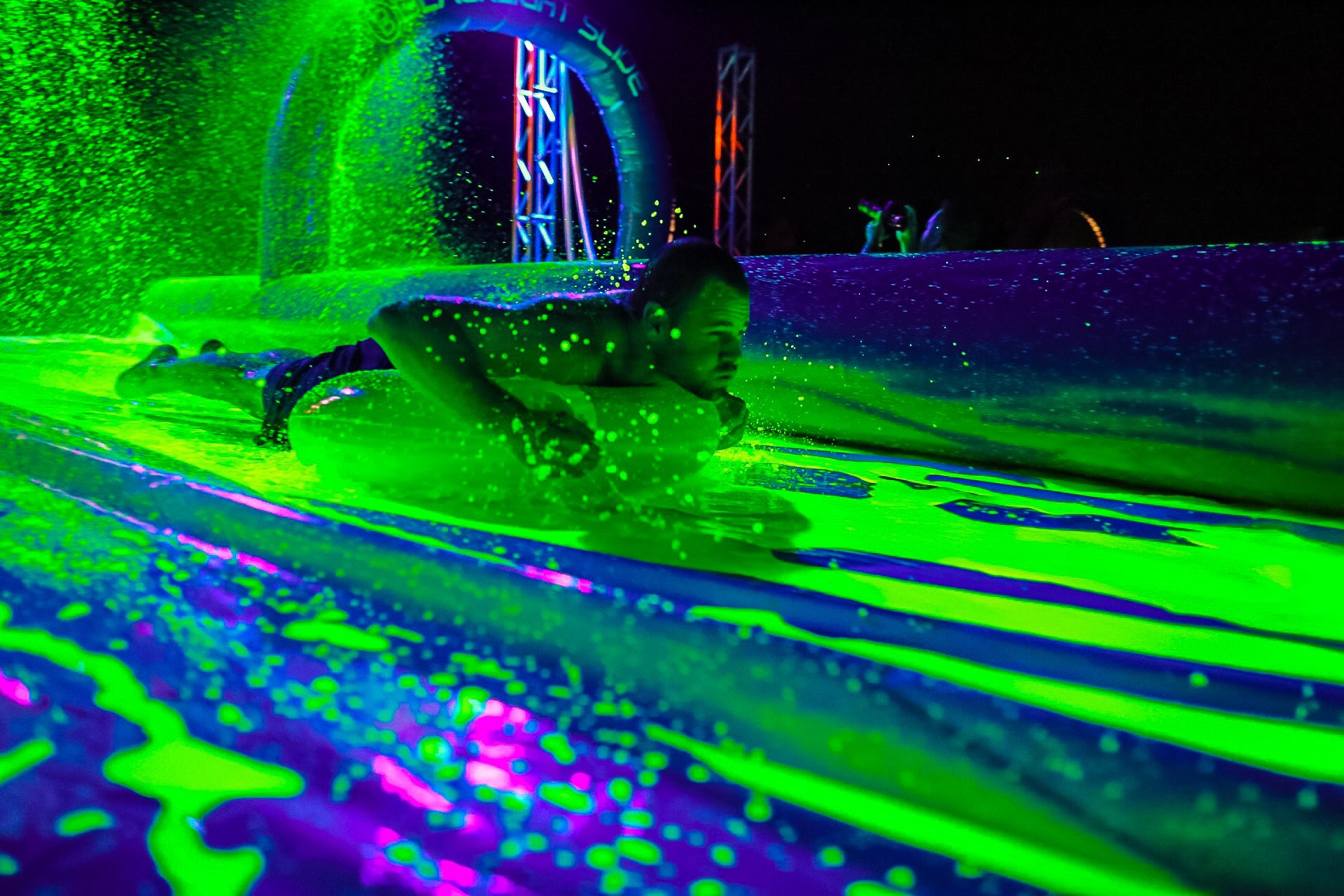 blacklight slide party comes to raley field  u2022 sept  9