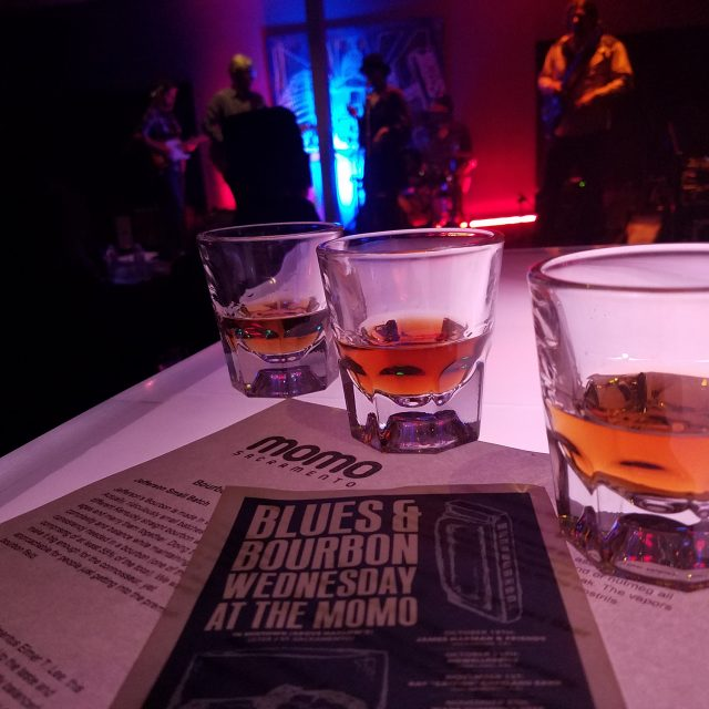 Bourbon and Blues at Momo