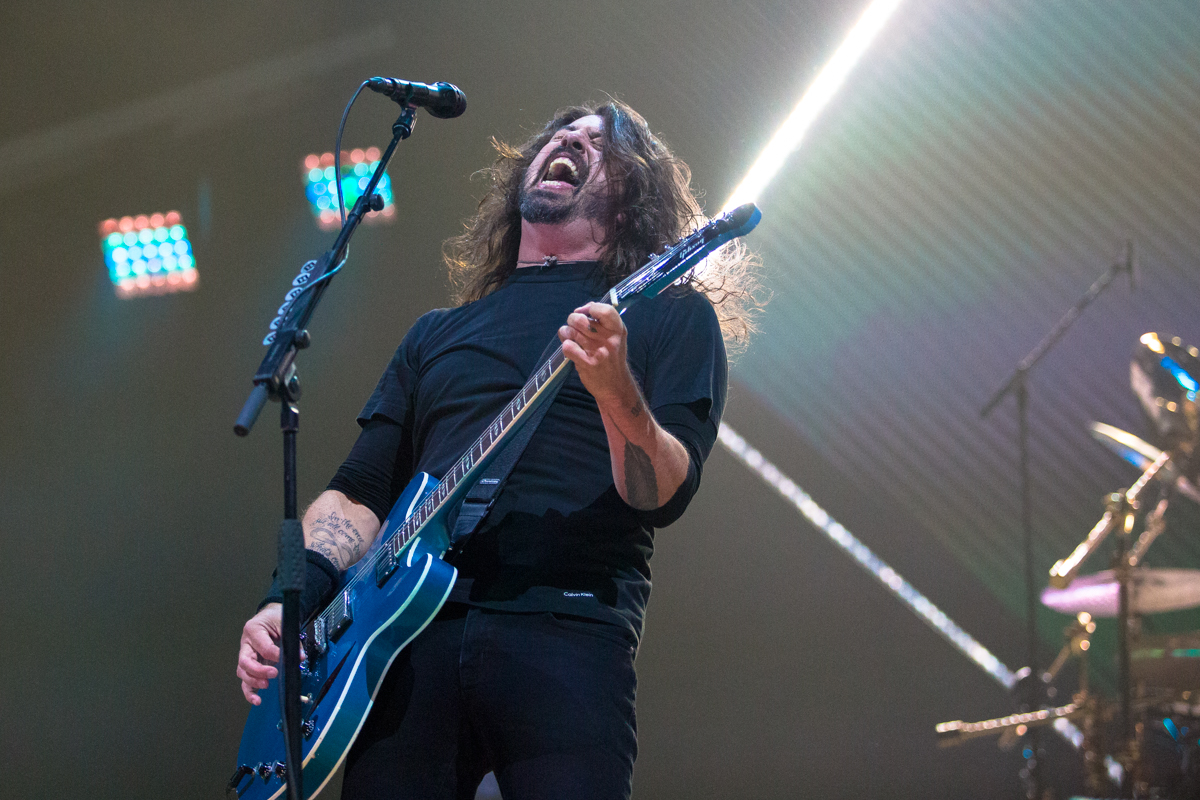 Dave Grohl | Golden 1 Center | December 2 2017 | Paul Piazza