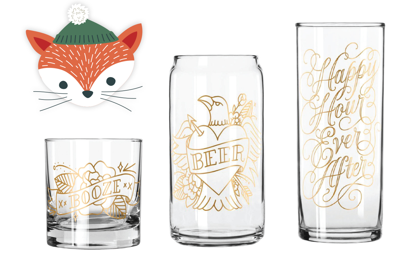 Easy Tiger Glassware at Strapping Store