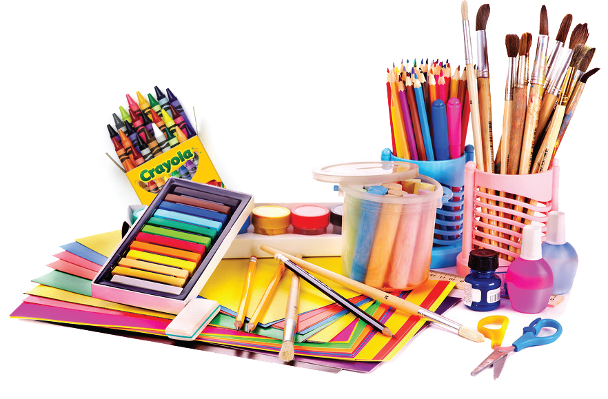 10th annual crayons to canvas art supply drive is for Where to donate craft supplies