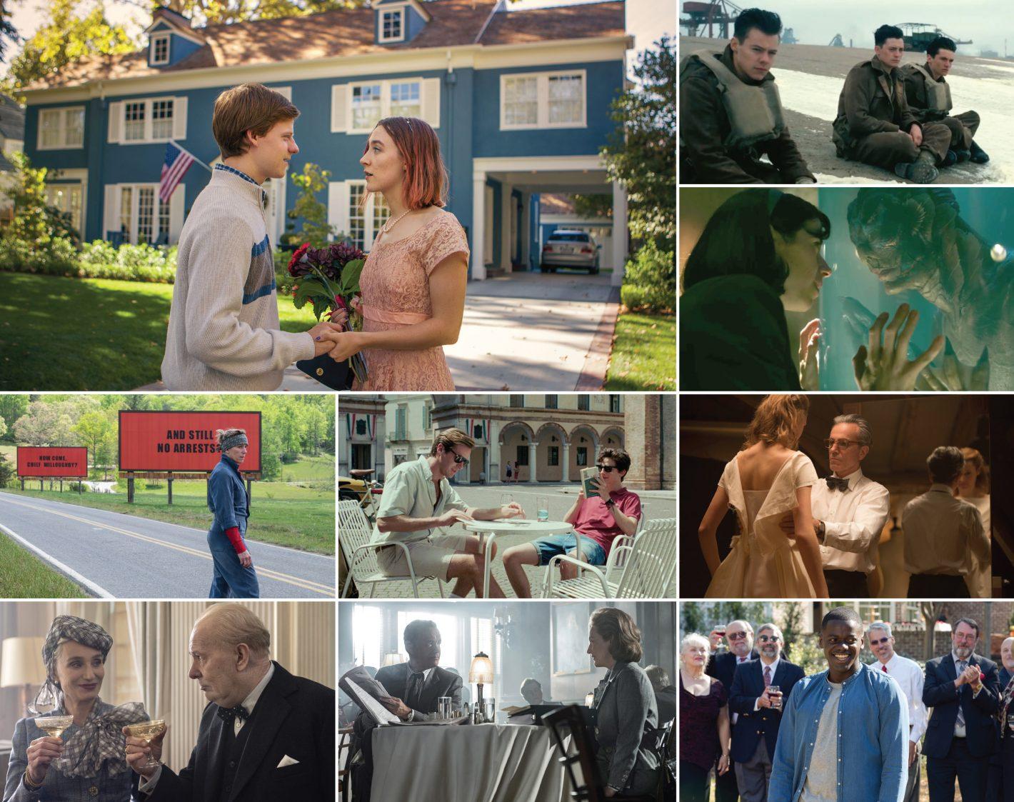 Lady Bird Versus the World Oscar nominees