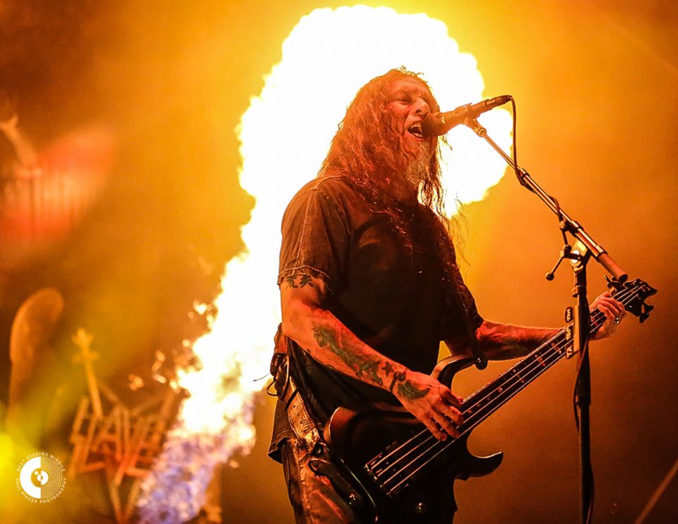 Tom Araya of Slayer in Sacramento