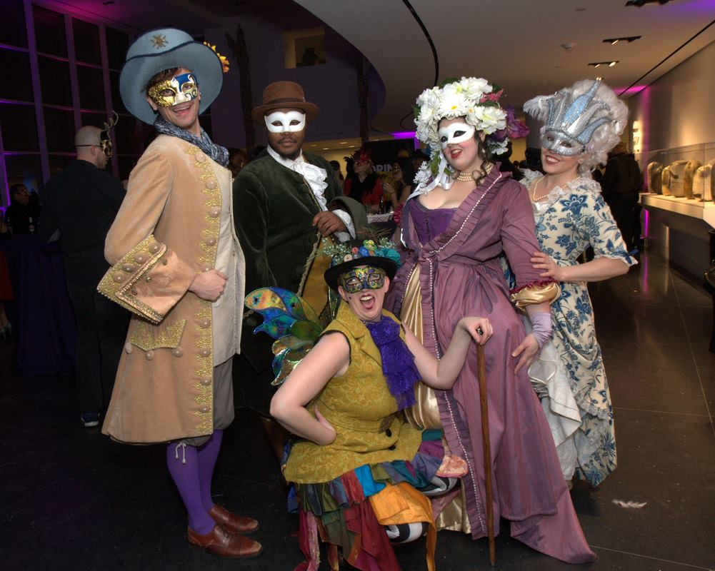 df4e065626b7 A Night of Magic, Mystery and Make-Believe at Crocker's ArtMix Masquerade •  March 14, 2019