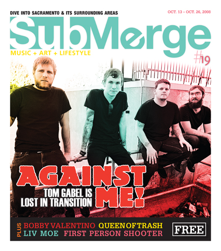 Against Me! Submerge Cover