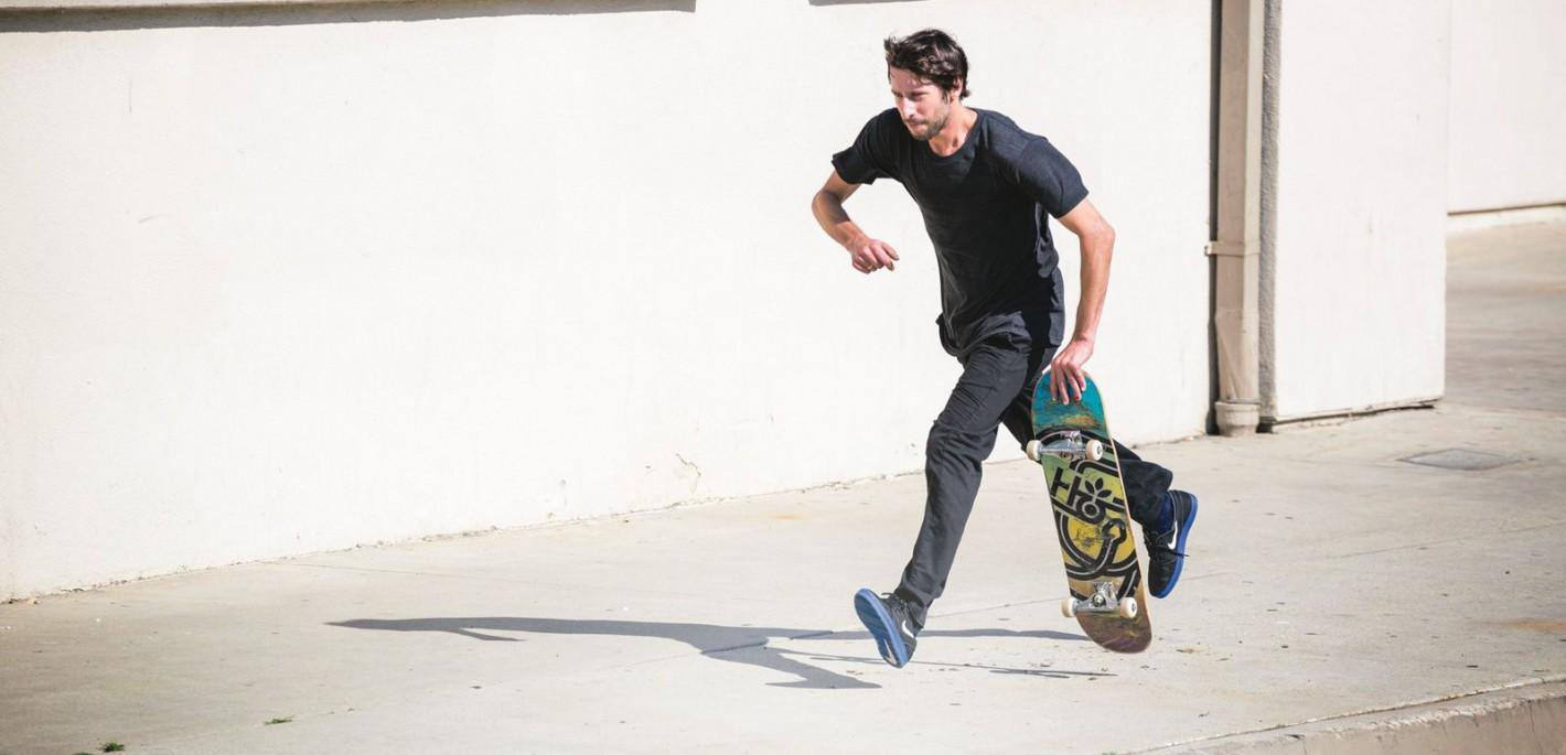 Sacramento Skater Stefan Janoski Gets