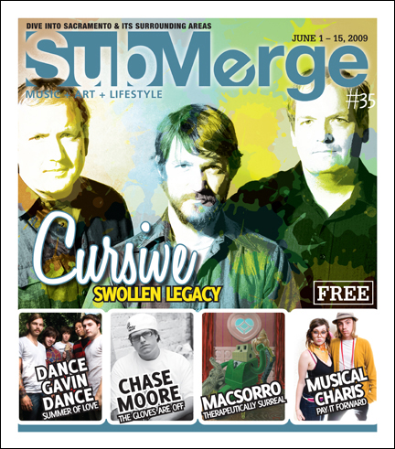Cursive Submerge magazine interview