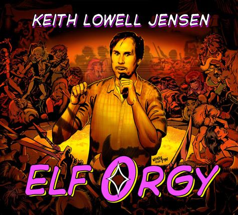 Keith Lowell Jensen-Elf Orgy CD Moustache-1-web