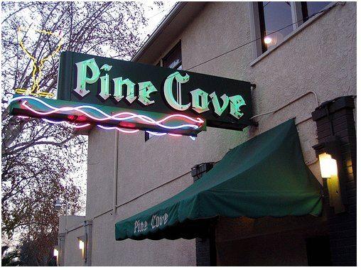 The Stream-Pine Cove