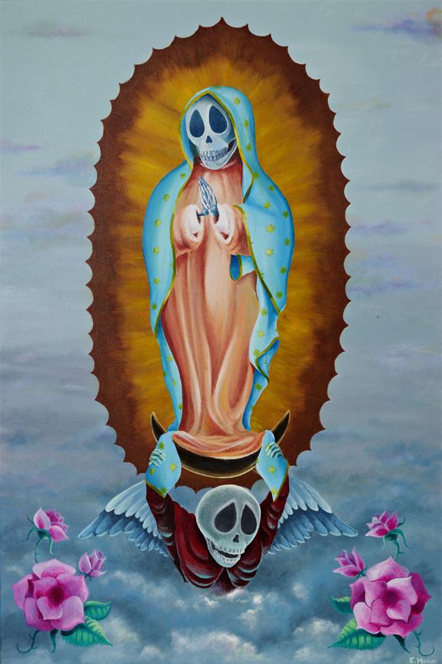 "{""Mother Mary""    Acrylic}"