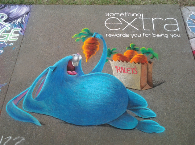 {Chalk It Up Square 2013    Sponsor: Raley's}