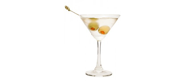 {Dirty Martini}