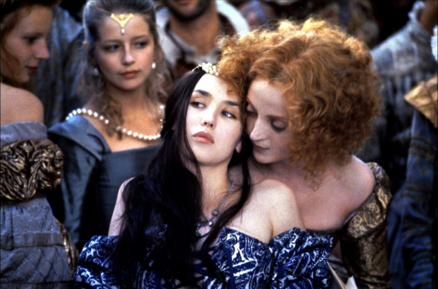 Isabelle Adjani - La Reine Margot, Blue Dress-web