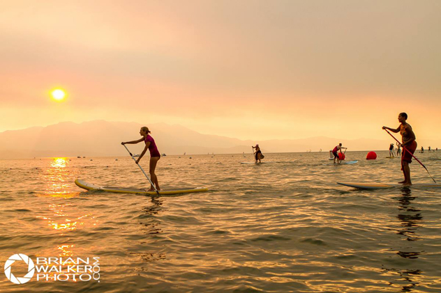 {Standup Paddle Boarding  |  Photo by Brian Walker }