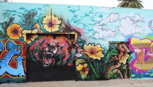 California Pride- Mural Sacramento-b