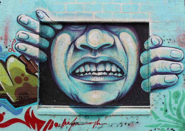 California Pride- Mural Sacramento