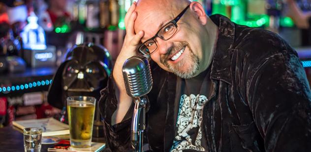 Comedian Robert Berry