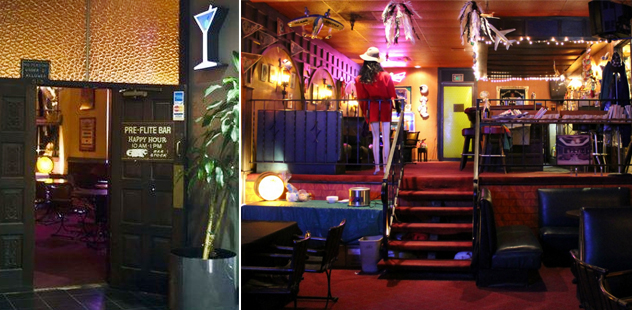 {Old Pre-Flite Lounge location}