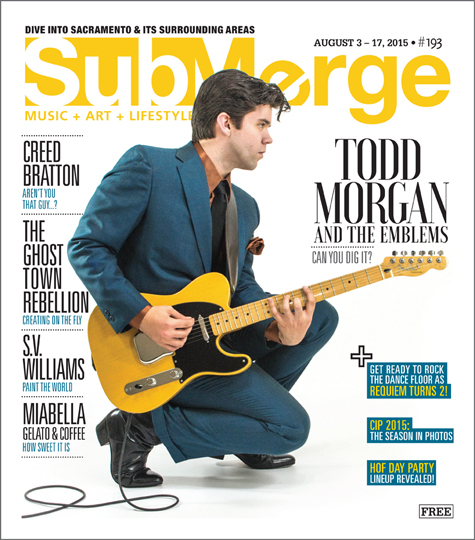 Todd Morgan and the Emblems | Submerge Mag Cover