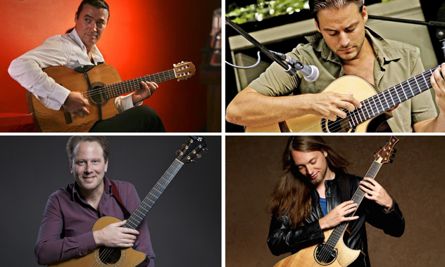 World's Foremost Acoustic Guitarists Visit Folsom for International Guitar Night