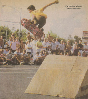 Tommy Guerro in Thrasher Magazine 1985-crop