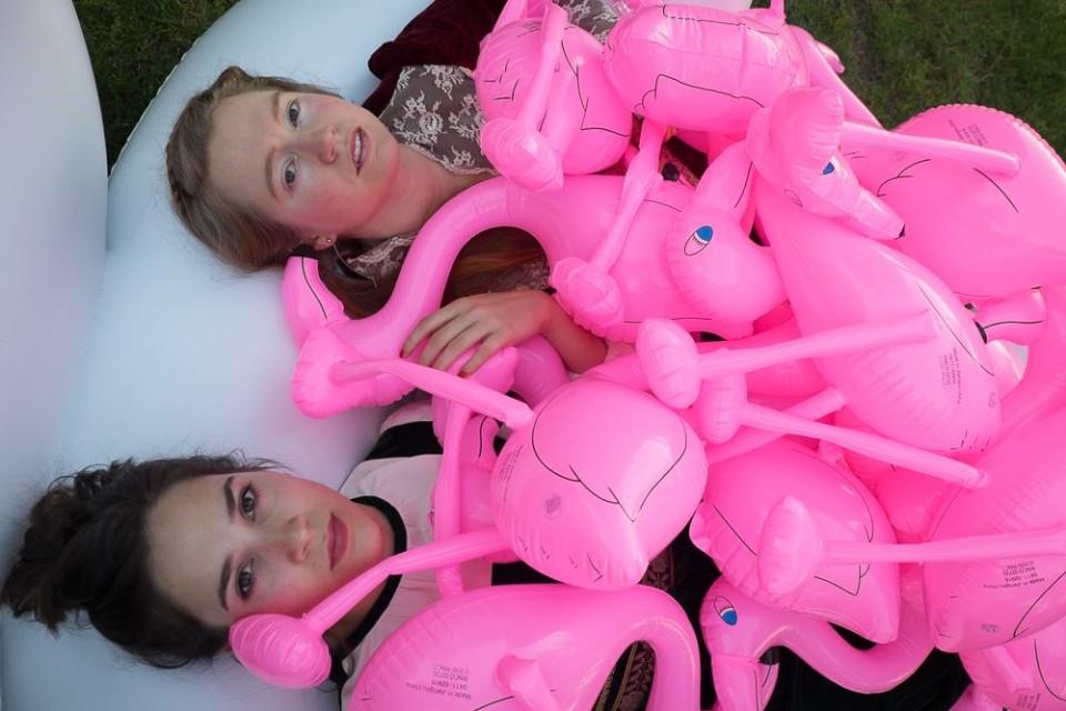 Molly Raney and Nina Joly