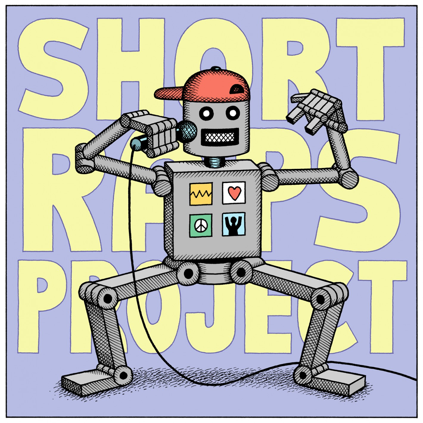 Be Brave Bold Robot | Short Raps