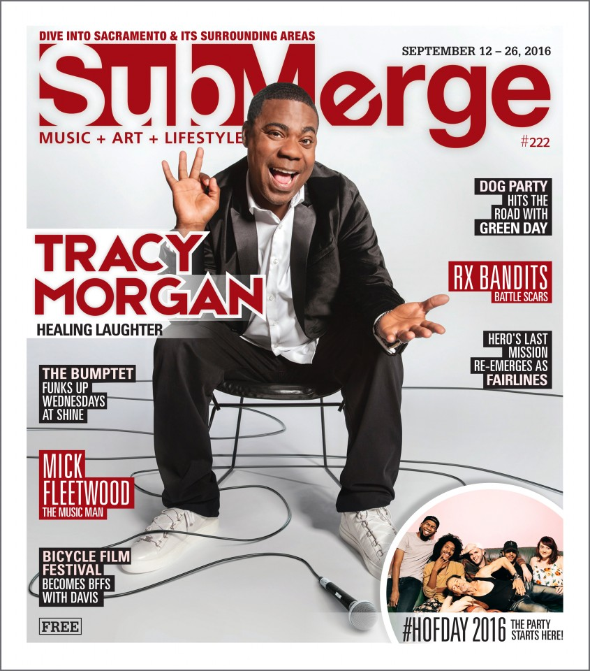 Tracy Morgan interview Submerge