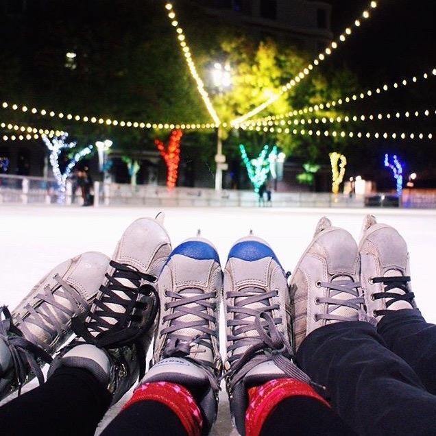 Downtown Sacramento Ice Rink