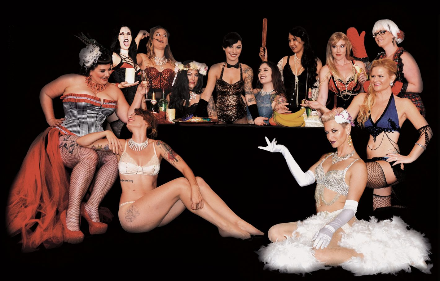One Last Dance: Sizzling Sirens Burlesque Experience to Perform Final Show at Harlow's Jan. 21, 2017