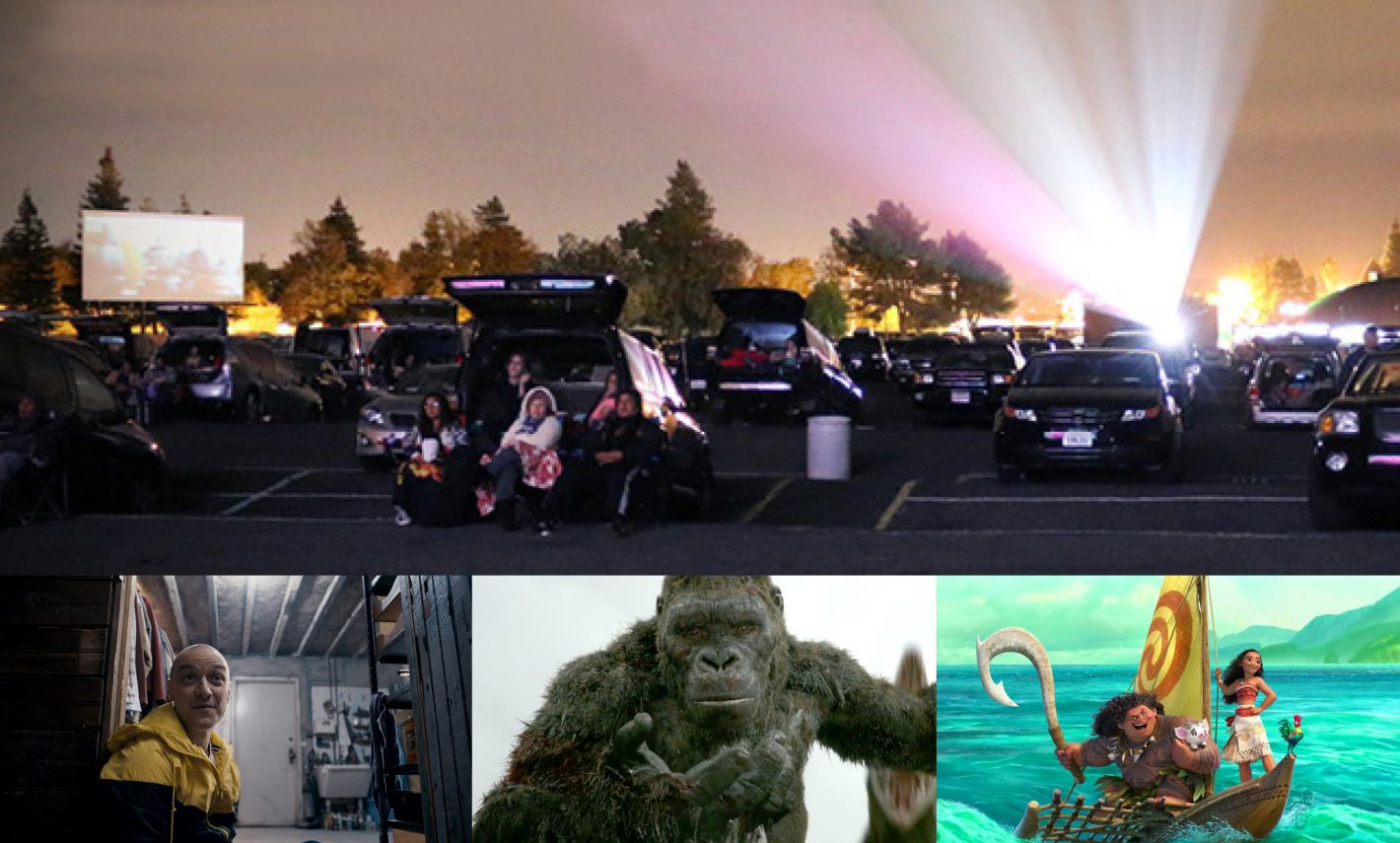 Free Movie Night at West Wind Drive-in Sac April 27 2017