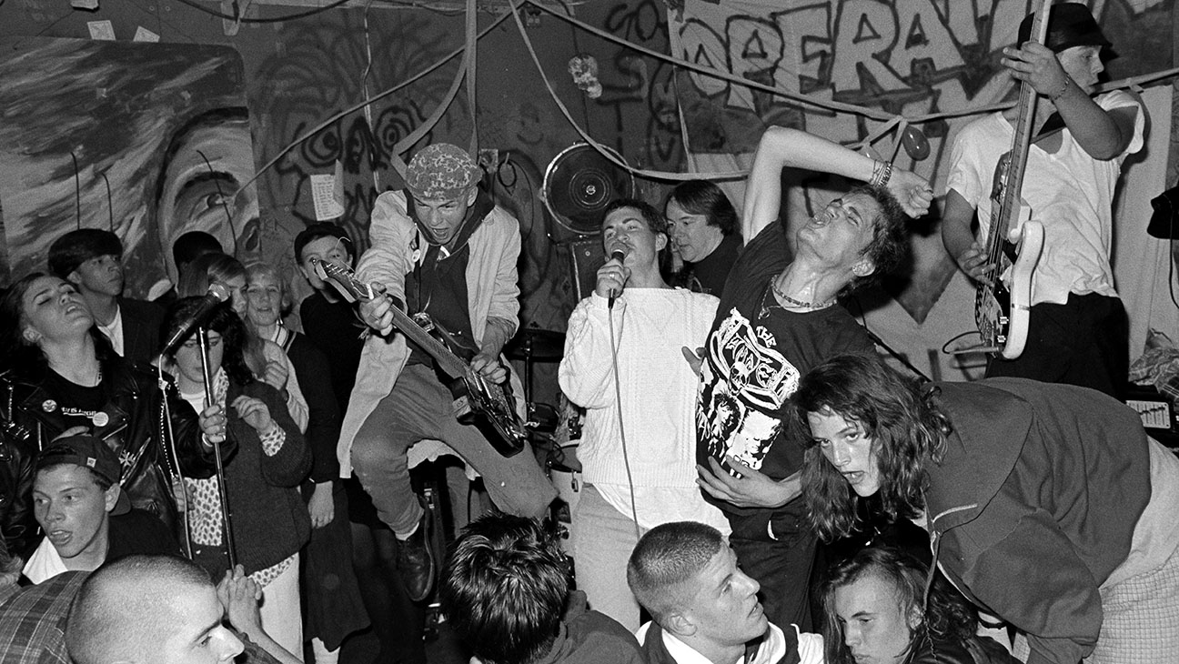 Turn It Around: The Story of East Bay Punk- Pperation Ivy at Gilman 1988 photo by Murray Bowles