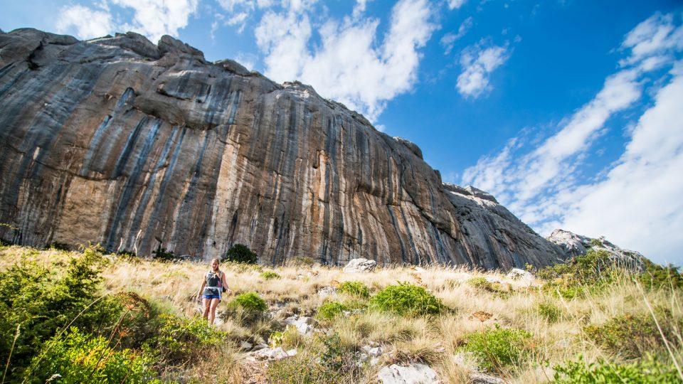 Ceuse, France climbing crag