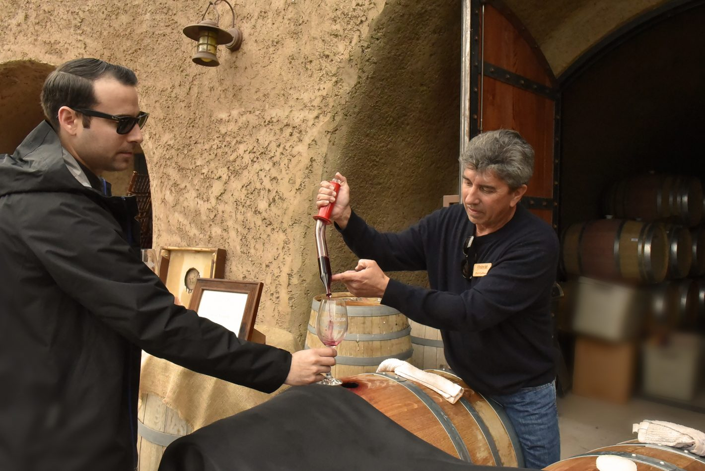 Amador Vintners' Behind the Cellar Door - Photo by Melissa Welliver for Submerge