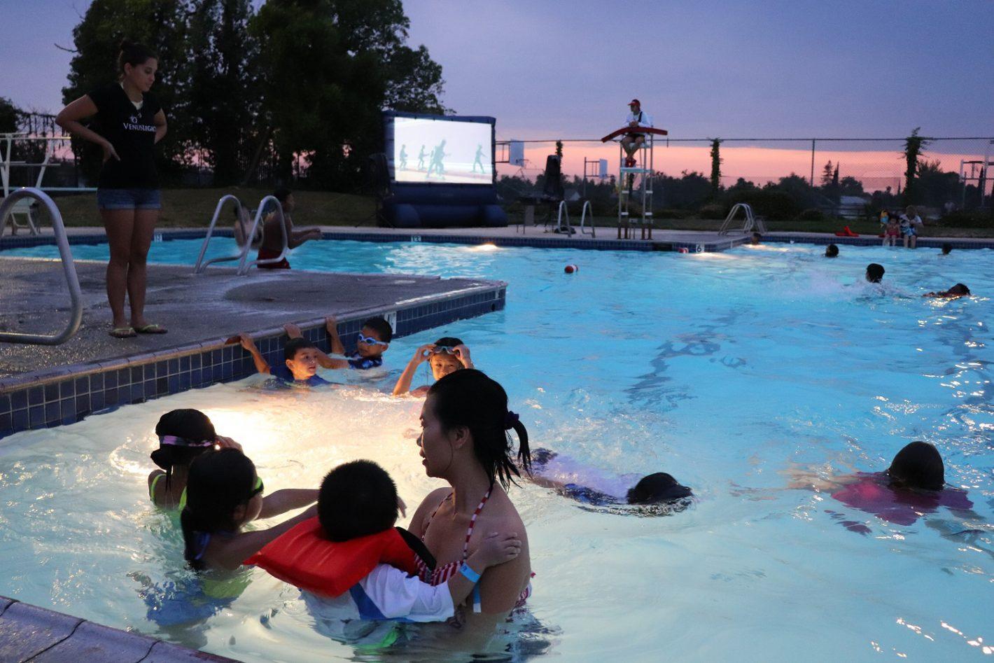 Fruitridge Aquatic Center's Float-In Movie Nights 2018
