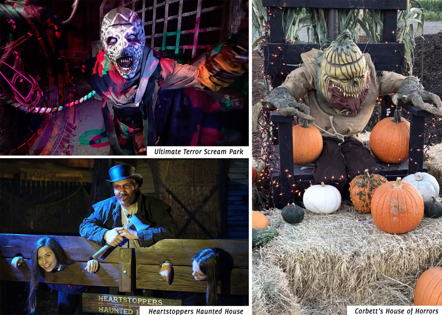 Sacramento Halloween Haunted Houses 2020 6 Halloween Haunts! Let Me Hear You Scream, Sacramento | Submerge